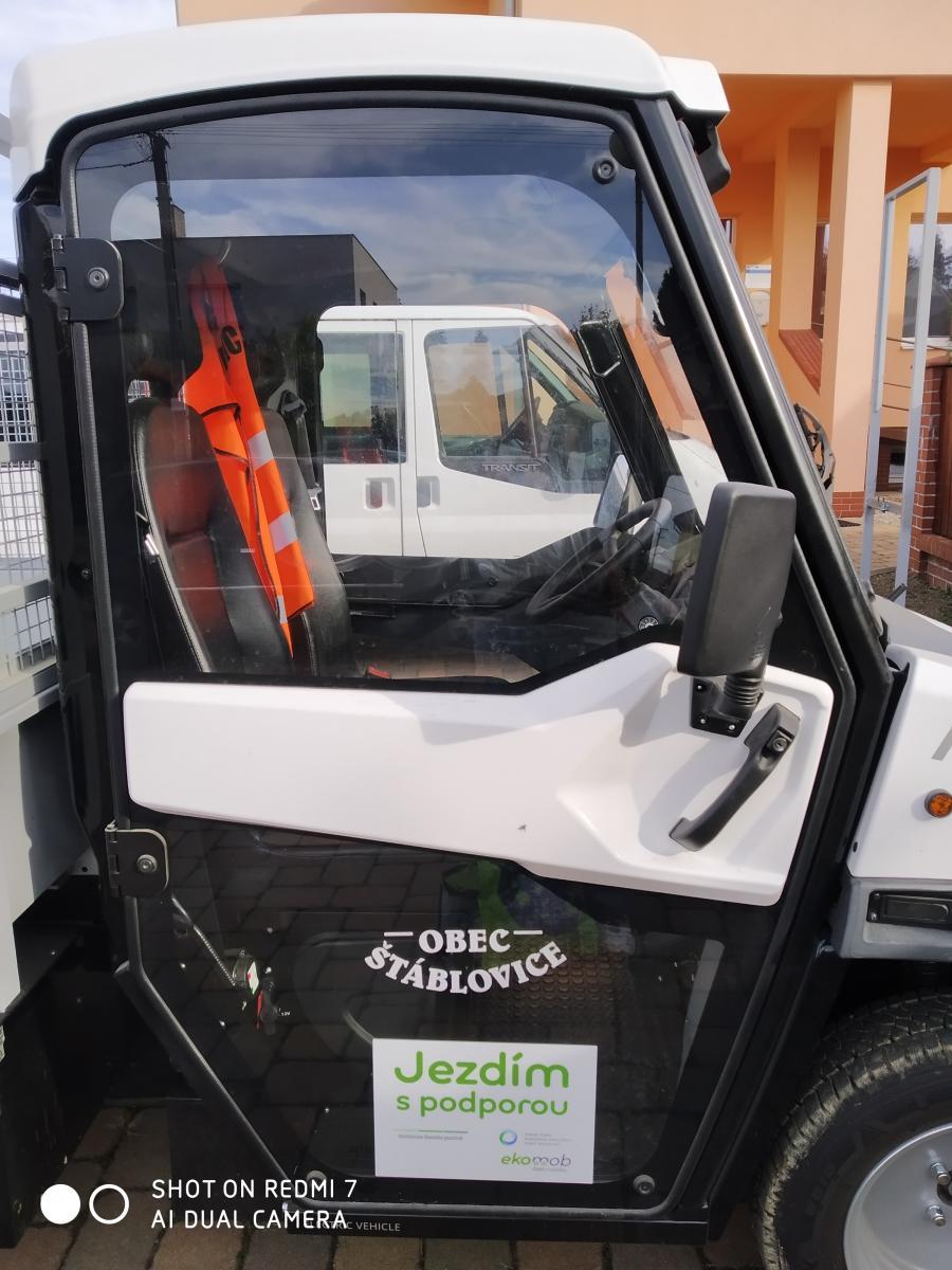 Elektromobil pro obec Štáblovice