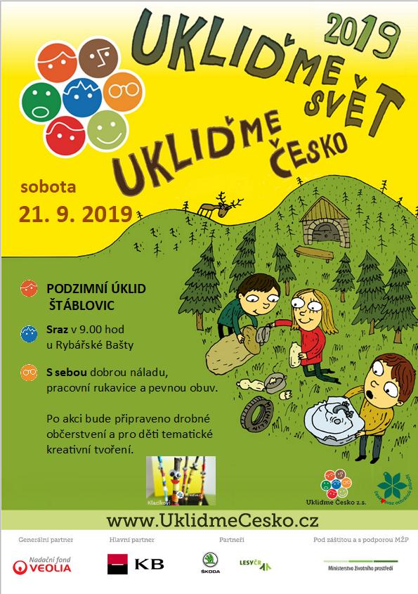Ukliďme svět, ukliďme Česko - plakát
