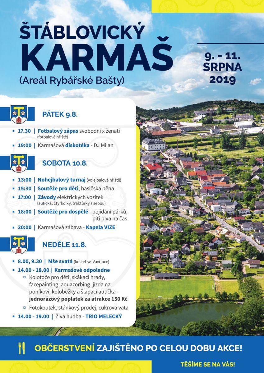 Karmáš Štáblovice 2019 - plakát