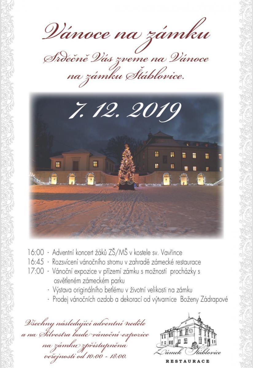 Vánoce na zámku 2019