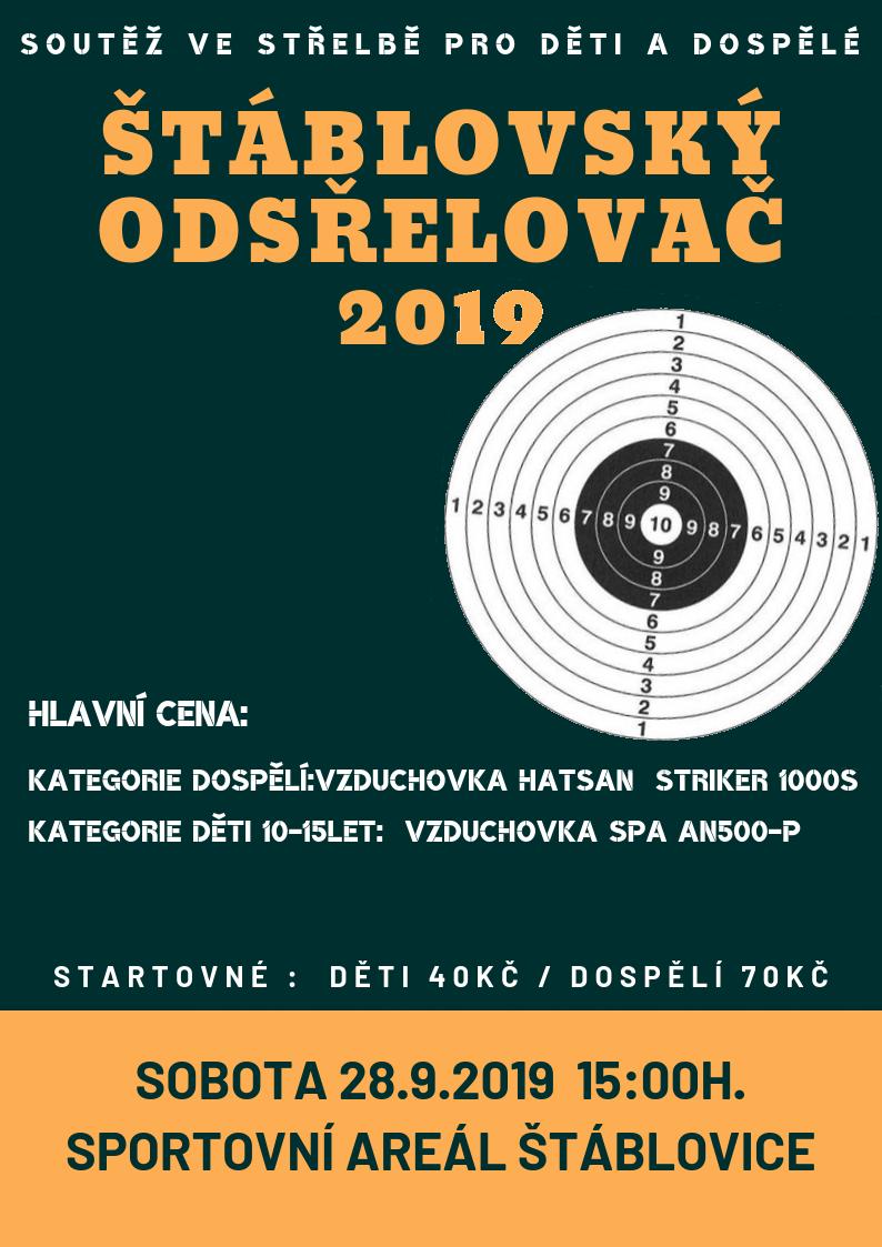 štáblovský odstřelovač - plakát